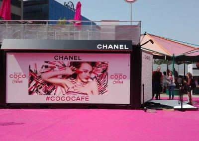 Decoración evento Chanel