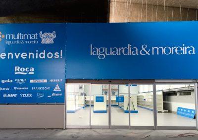 Stand publicitario para Laguardia & Moreira