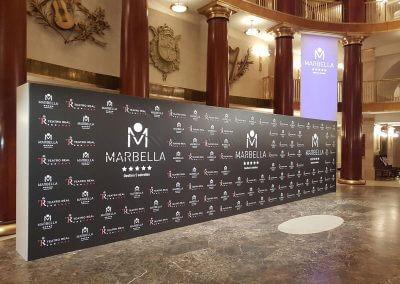 Photocall en el  Teatro Real para promocionar Marbella
