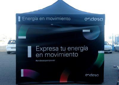 Montaje de display exterior para Endesa