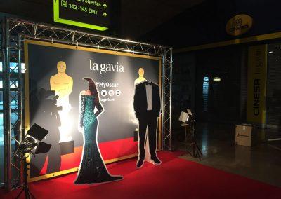 Photocall en La Gavia para promocionar la gala de los Oscar