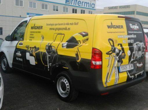 Rotulacion de vehiculos de empresa: coches, furgonetas, autobuses, motos…